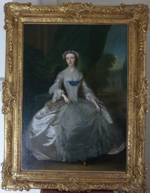 portrait of a young lady c1735 circle of charles philips