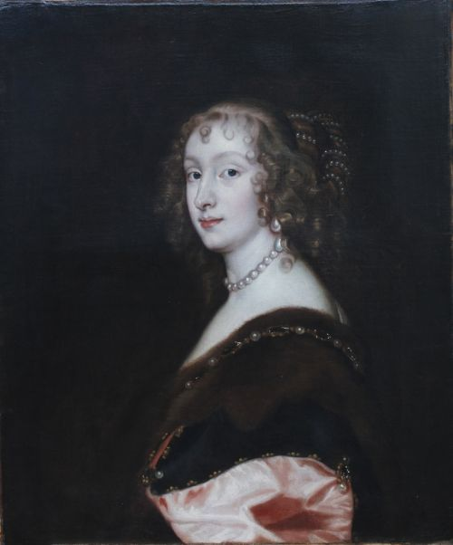 portrait of mary lady killigrew c1637 studio of sir anthony van dyck